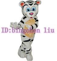 tiger white Cartoon Character Costume cosplay mascot Custom Products custom-made(s.m.l.xl.xxl) free shipping