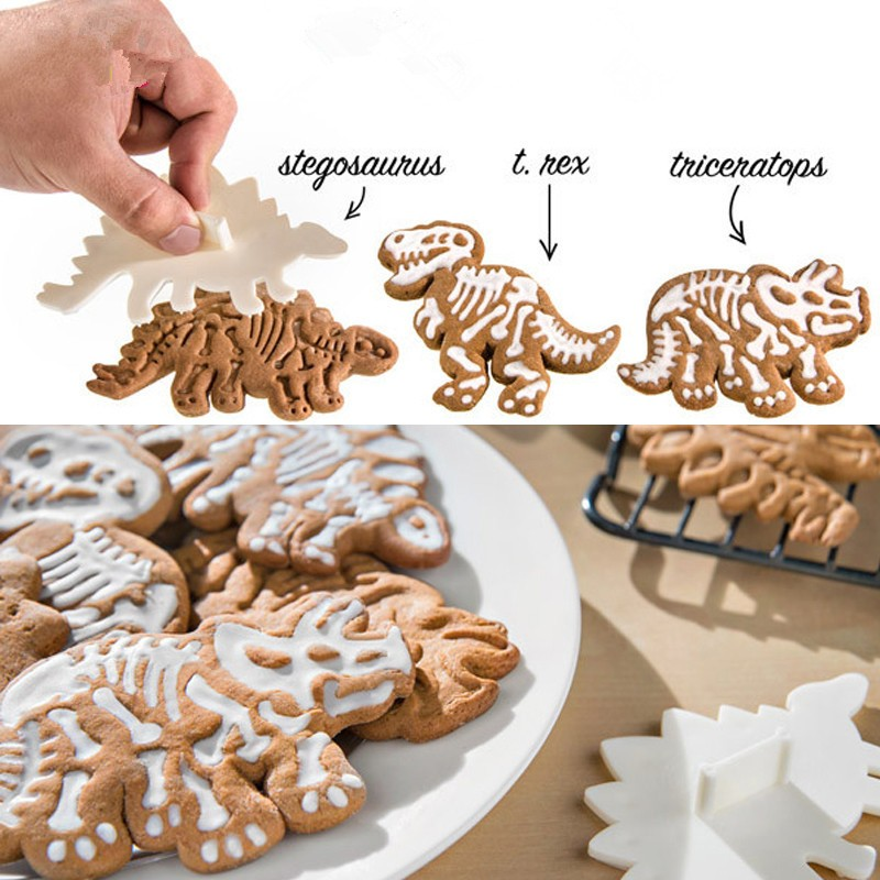 Delidge-3pcs-set-Dinosaur-Shaped-Cookie-Cutter-Mold-3D-Biscuit-Sugarcraft-Dessert-Baking-Mould-Fondant-Cake