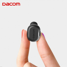 New Dacom K007 Mini In Ear Bluetooth Earphone Wireless Headset Lightest Headphone Earbuds with Mic Handfree Call for Cell Phone
