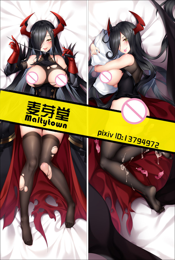 MMF Original bilan hangxian anime Characters sexy KMS Friedrich der Große azur lane Dakimakura pillow cover body pillowcase