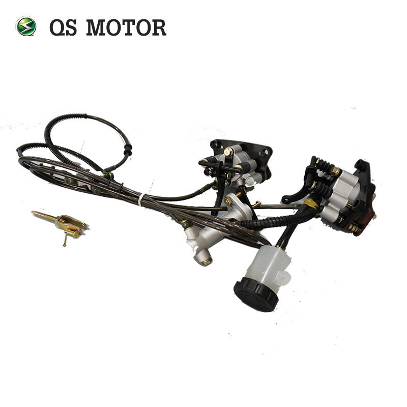 QSMOTOR dual 8000W 273 50H V3 brushless electric car hub motor conversion kits with APT controller in Motors from Automobiles Motorcycles