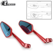 Motorcycle handlebar mirror side universal rearview accessories For MV Agusta Benelli TNT 300 BMW S 1000 R XR SV