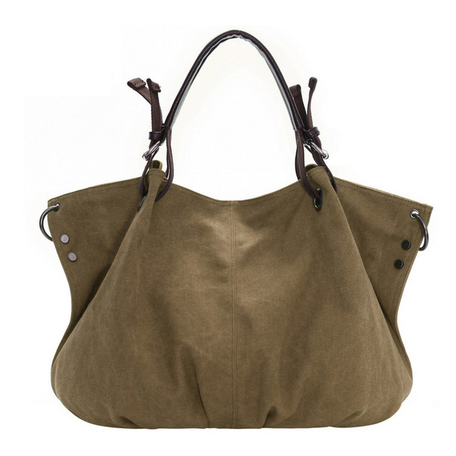 Women Canvas Bag 2017 Brand Luxury Women's Handbags Women Messenger Bags Designer Crossbody Shoulder Bag For Women Tote Bags