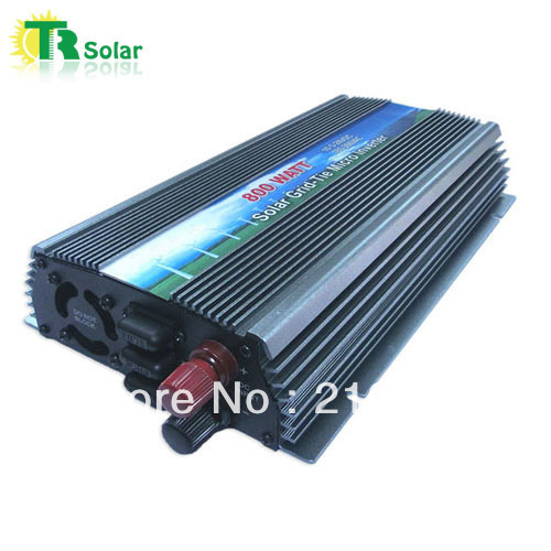 800W Gird Tie Pure Sine Wave Micro Solar Inverter Matched with the 12-18V solar panel for Home Using Free Shipping