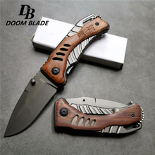 155 мм (6,1 ') 56HRC складной карманный нож брелок для ключей фрукты кемпинг на открытом воздухе выживания EDC нержавеющая 5Cr13 лезвие ножи