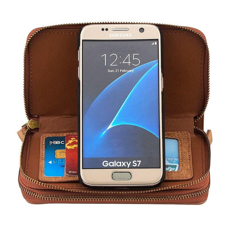Цена за S7 край Роскошный Кожаный Чехол для Samsung Galaxy S7 крайний Случай кожаный Бумажник Чехол Capinha Coque для Samsung Galaxy S7 крайний Случай