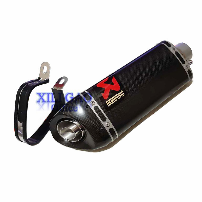 51MM Universal For akrapovic Exhaust Muffler Motorcycle Escape moto DB Killer KTM For suzuki gsr 600