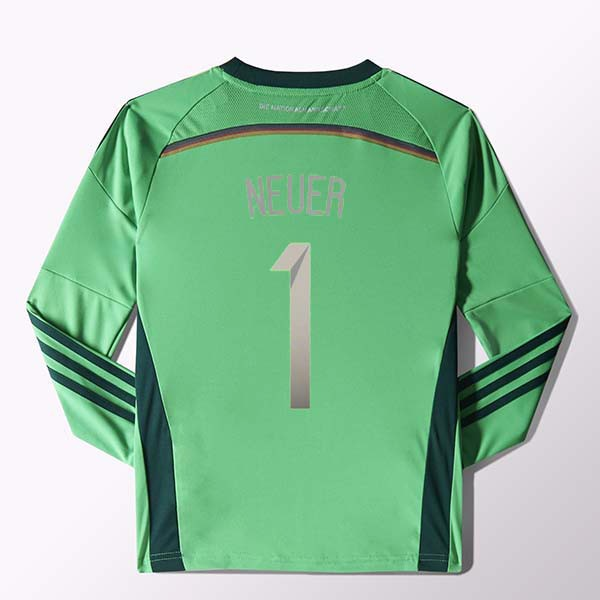 2015 Germany Soccer Jersey 4 Stars Youth Kits Neuer Goalkeeper  32310751989 771 1122 effced50d