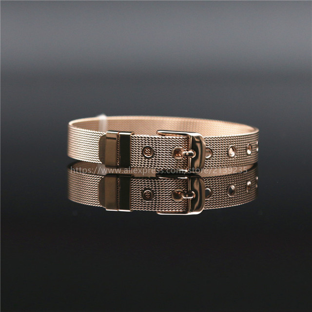 Keep Jewelry Stianless Steel Keeper Bracelet Rose Gold Silver Gold