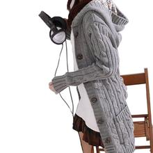 Long Sleeve Cardigans trench Outwear