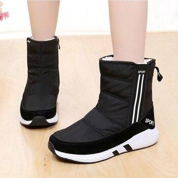 7c5436406b08 WGZNYN/женские ботинки, зимняя обувь, женские ботильоны на платформе,  высокое ...