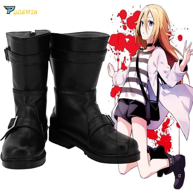 Angels of Death Ray Rachel Gardner Cosplay Shoes Satsuriku no Tenshi Boots Custom Made