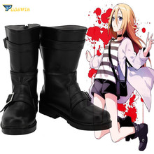 Angels of Death Ray Rachel Gardner Cosplay Shoes Satsuriku no Tenshi Boots Custom Made