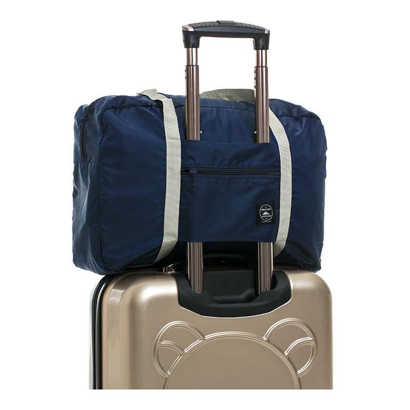 Переносные складные большие дорожные сумки для хранения одежды с верхней  ручкой сумка для багажа Органайзер Чехлы 4315332c3a0