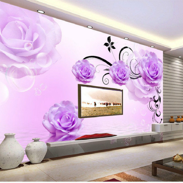 damask wallpaper for walls 3d wall paper mural wallpapers silk for ...