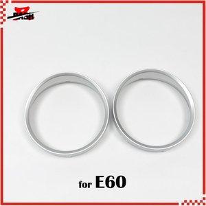 Image 1 - SD Motor 무료 배송 E60 실버 클러스터 게이지 대시 보드 링 M5 M6 Look ABS