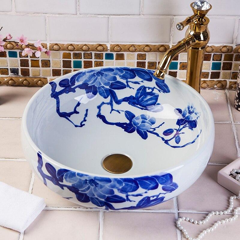 Wash Basin Ceramic Counter Top