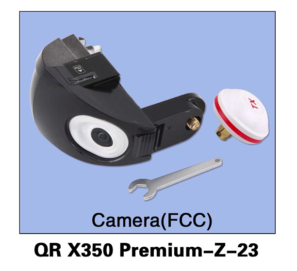 Walkera QR X350 Premium-Z-23 Camera(FCC) for Walkera QR X350 Premium Helicopter Drone Accessory Parts F14449 qr x350 pro z 06 brushless motor spare parts for walkera qr x350 pro