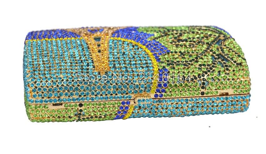 Dîner Partie Faire Soirée 88200 Shopping Une Précieux Sac À Cristal Épaule Aller Luxuriant Tour Main De Élégant Diamant Du Date qfz8XPnw