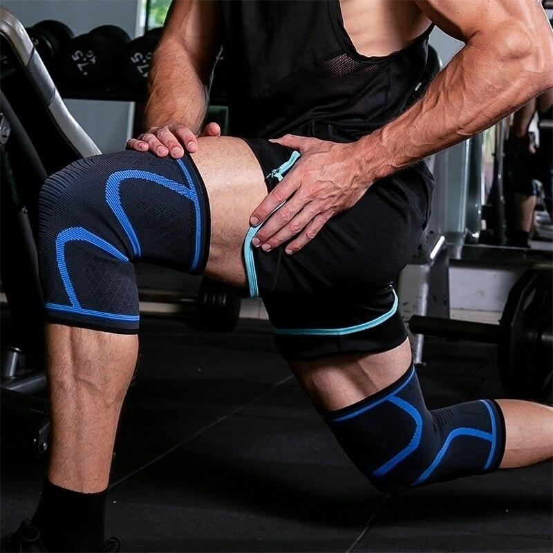 1 Piece Knee Protector Sports Knee Pads Volleyball Running Fitness Hiking Cycling Knee Brace Support Joelheiras Rodillera