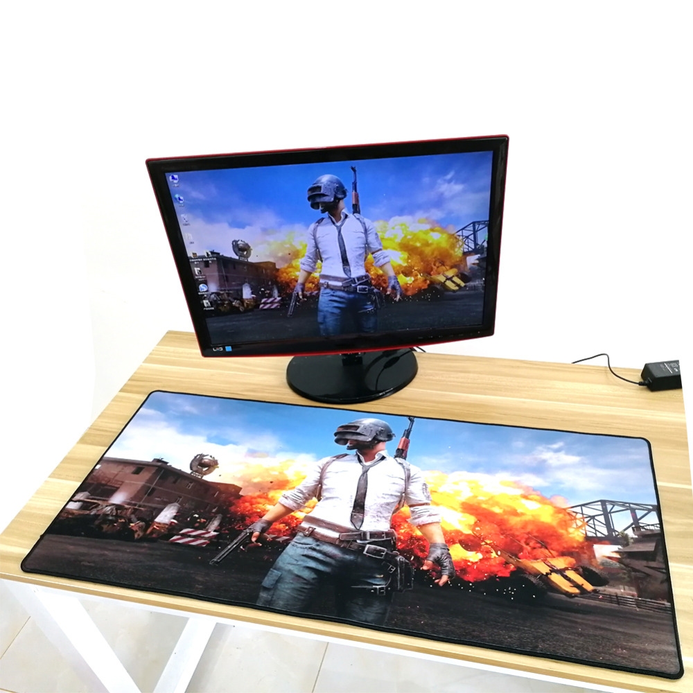 HD 900*400 *4 mm Large Pubg Gaming Mouse Pad For Gamers Players Washable XL Big Size Computer PC Mousepad for Battlegrounds