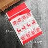LAPHIL 10pcs Christmas Tree Christmas Gift Bags Lot Santa Claus Gift Bags Xmas Candy Bag Merry Christmas 2018 New year Favors 1