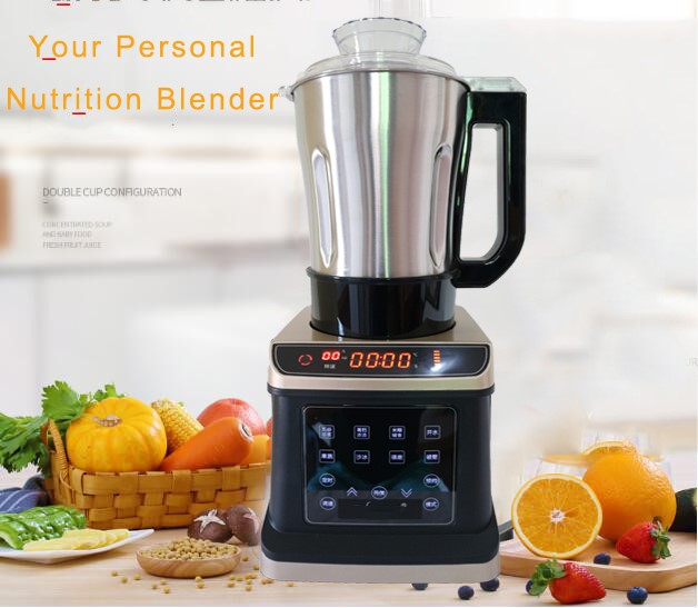 Stainless steel Heavy Duty Commercial Grade Blender Mixer Juicer 2000W Food Processor Ice Smoothie Bar Fruit Blender 2200 w heavy duty commercial blender mixer 2l high power potato food machine robot ice blender bar fruit blender electric 6800