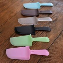 Cream Knife Plastic Spatula Smoother Cake  Icing Frosting Spreader Fondant Pastry Cutter