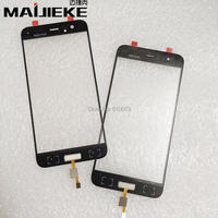 MAIJIEKE Original Screen Front Outer Glass With Fingerprint For Xiaomi 6 Mi6 Mi 6 Touch Panel