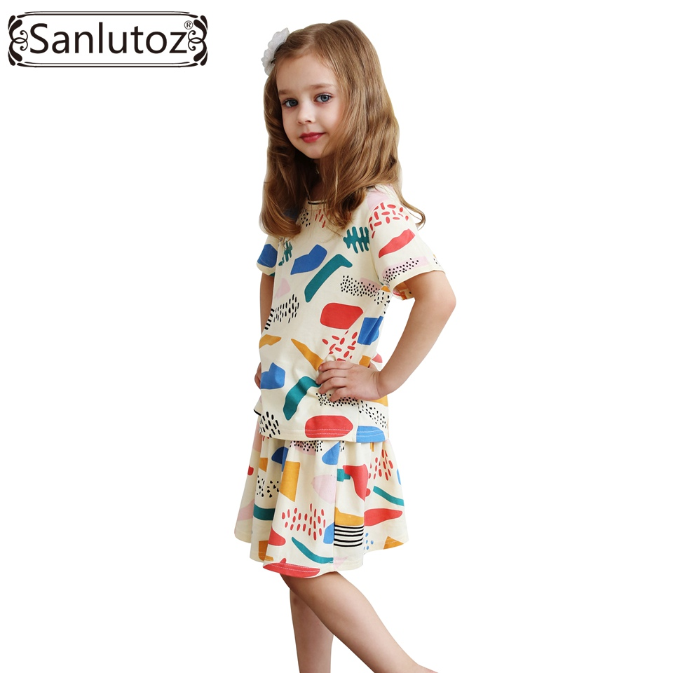 Girls Children Clothing Set Summer 2016 Kids Clothes For ...