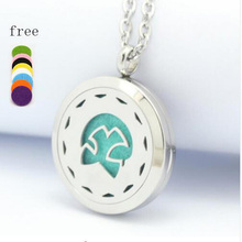 Top Quality Magnetic Perfume Locket Stainless Steel Aromatherapy Essential Oil Diffuser Pendant For Women