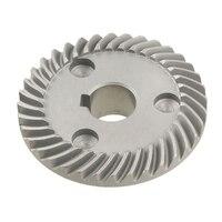 2 peças de substituição espiral chanfro engrenagem para makita 9553 ângulo moedor