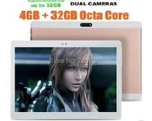 10 pulgadas tablet pc Android 5.1 OS Octa Core 4 GB RAM 64 GB ROM 8 Núcleos 1280*800 IPS Niños Regalo MEDIADOS GPS Tabletas 10 10.1