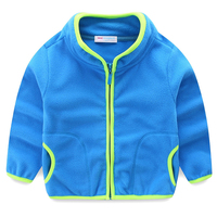 LittleSpring 2015 New Kids Winter Coats Children Outerwear Long Sleeve Candy Color Fashion Coat For Boys