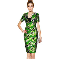 African Two Pieces Set Wax Tops and Skirts Women Suits Two Piece Sets African Women Clothing Plus Lady Party Costume Customize