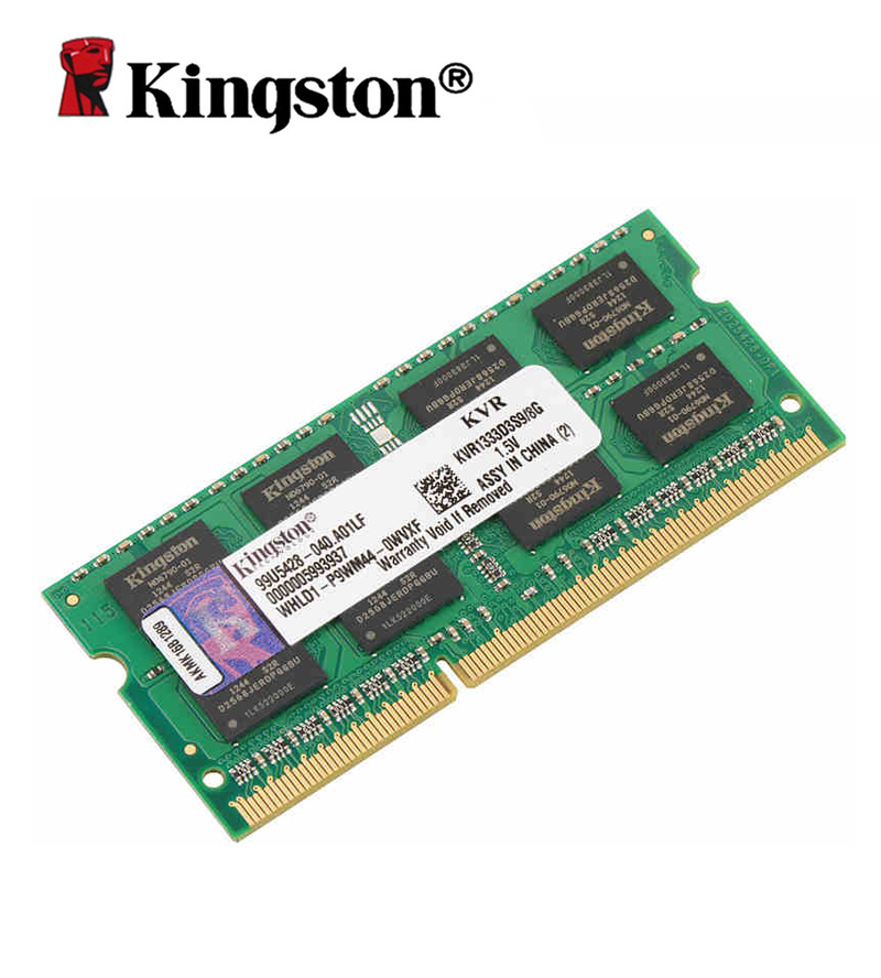 Kingston Original 1333MHz DDR3 8gb Non-ECC CL9 SODIMM memoria ram 204-pin DIMM for laptop оперативная память 2gb pc3 10600 1333mhz ddr3 dimm kingston kvr13n9s6 2