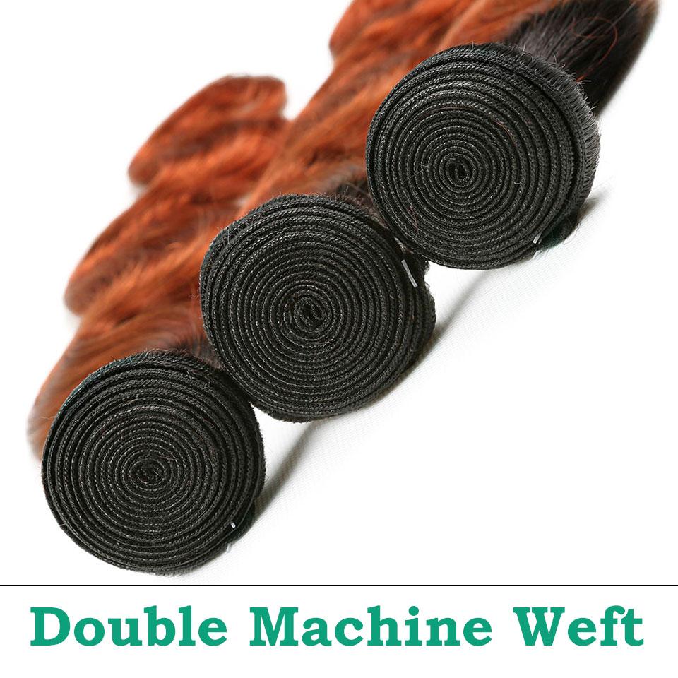 unice hair orange bundles with closure  (8)