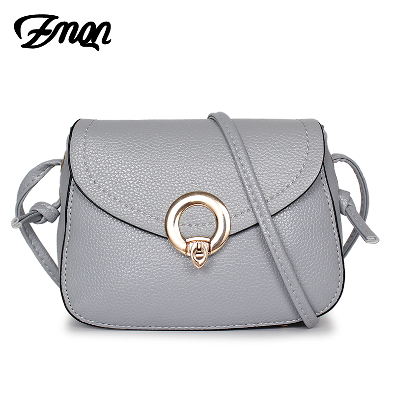 ZMQN Women Messenger Bags Mini PU Leather Small Over Shoulder Crossbody Bags For Phone Girls 2017 Casual Cheap Bags Light A549 mini women crossbody bags small women