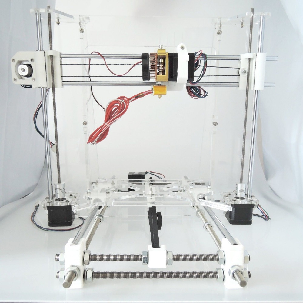 [Sintron] 3D printer full frame mechanical Kit for Reprap Prusa i3 DIY,Acrylic Frame,Plastic parts,LM8UU bearings metal frame linear guide rail for xzy axix high quality precision prusa i3 plus creality 3d cr 10 400 400 3d printer diy kit