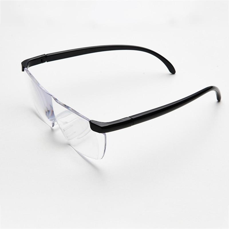 Gafas De Lupa 250 Grados De Visión De Lectura Para Coser Trabajar Portátil Ayuda