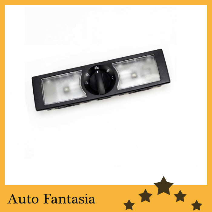 Car accessories rear passenger seat dome light panel (black)   - for Volkswagen jetta mk6