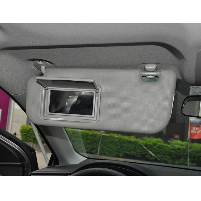 Beige Gray Car Sun Visor Makeup Mirror For Toyota Corolla Levin 2014-2017  Windscreen Sun Visor Auto Accessories 784adacca32
