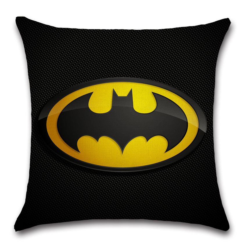 Miraculous Hot Promo Dark Knight Batman Super Hero Cushion Cover Party Machost Co Dining Chair Design Ideas Machostcouk