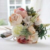 2019 New Arrival Bridal Bouquets Wedding Bouquet Pink Wedding Flowers Bridal Bouquets Bride Bouquet