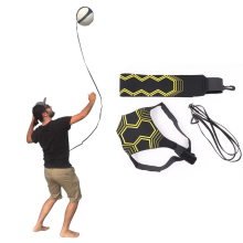 Волейбольное тренировочное оборудование помощь отличный тренажер для сольной практики подачи бросков возврат мяч регулируемый шнур длина талии