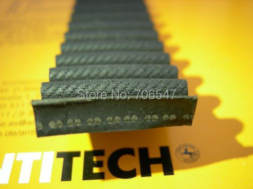 Free Shipping 1pcs  HTD1224-8M-30  teeth 153 width 30mm length 1224mm HTD8M 1224 8M 30 Arc teeth Industrial  Rubber timing belt
