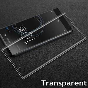 Image 5 - 9H 3D couvercle complet verre trempé pour Sony XZ2 H8216/66/96 Film de protection décran pour Xperia XZ2 Compact H8314/24 Guard