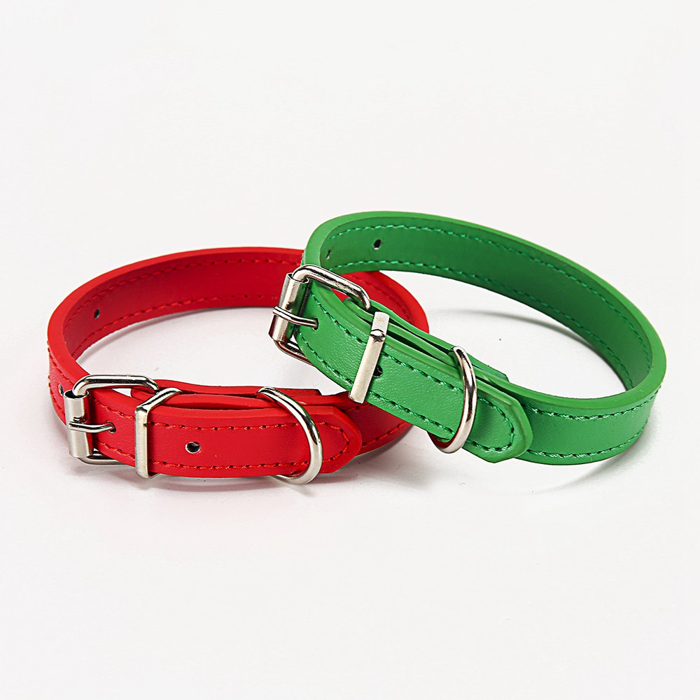 Cat Collar Safety Puppy Collar Chihuahua Solid Dog Collar For Cats Kitten Pet Cat Collars Adjustable Pet Leash Cat Lead Supplies (11)