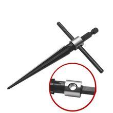 3-13 мм Мост штифт отверстие ручной развёртки Т-образная ручка коническая 6 рифленая фаска буровая коронка по дереву инструмент для резки-hol