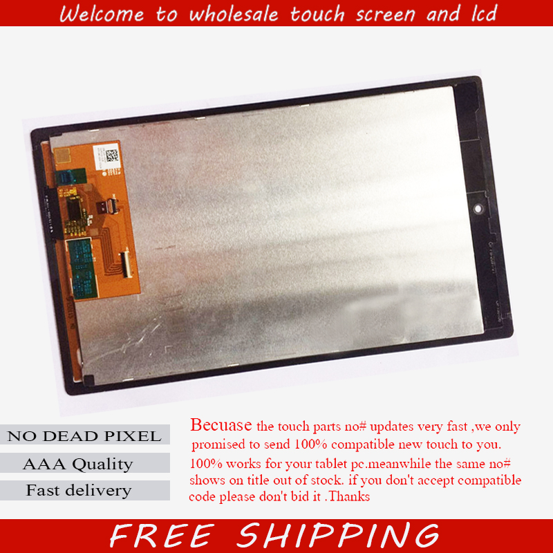 For Amazon Kindle Fire HD8 HD 8 New Full LCD Display Screen Monitor + Digitizer Touch Panel Screen Glass Assembly Replacement